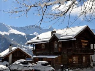 Winterfoto Chalet Heimatliebe